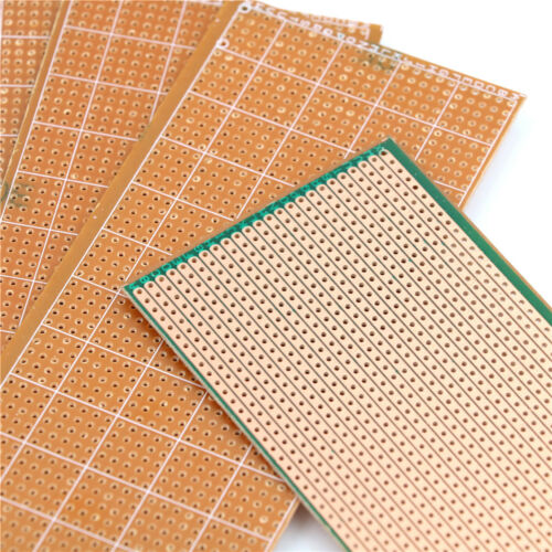 5Pcs 6.5x14.5cm Stripboard Veroboard Uncut PCB Platine Single Side CircuitBLUS