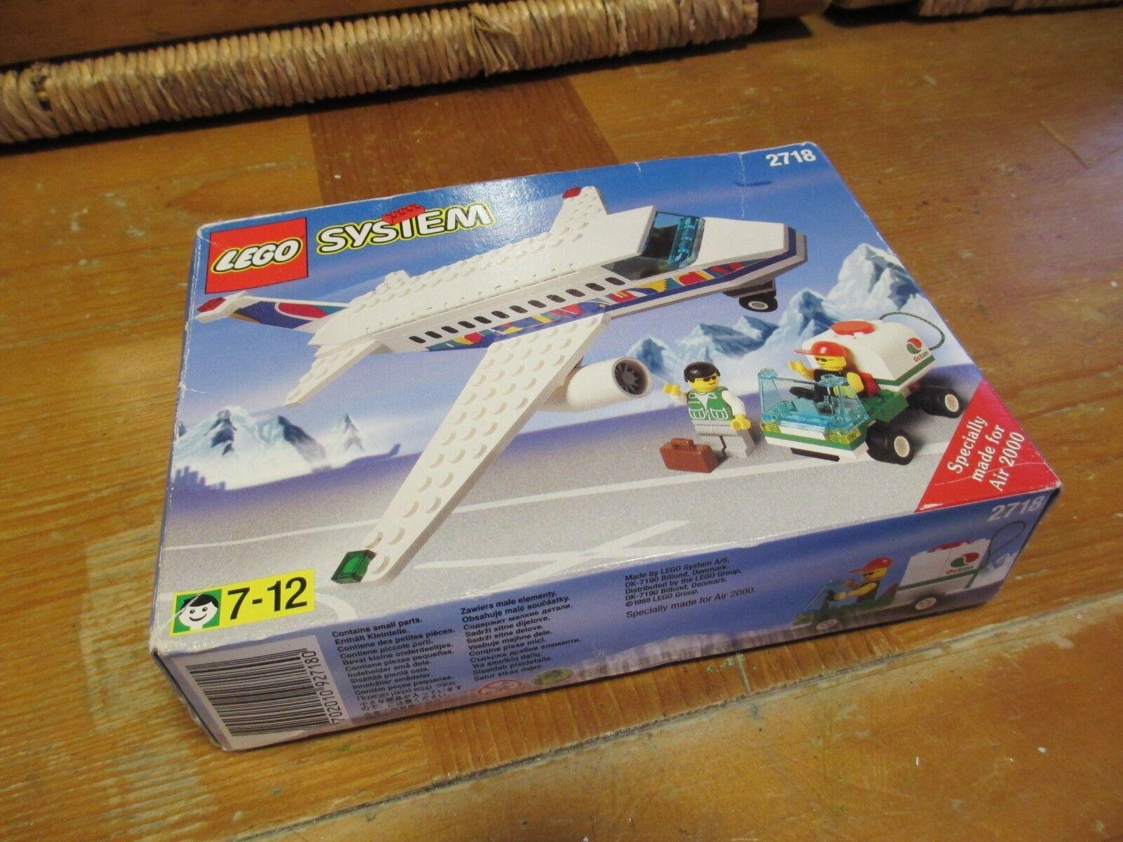 VINTAGE LEGO SYSTEM 2718 CITTA 'aeroporto-aerei e personale di terra NUOVO E SIGILLATO