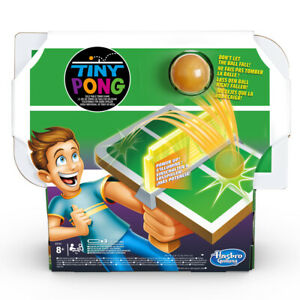HASBRO GAMING - Juegos Infantiles Tiny Pong 8 Años