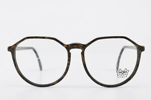 Aufrichtig Luxottica Brille Mod. 3069 L316 55[]17 145 Vintage Eyeglasses Occhiali Round Nos