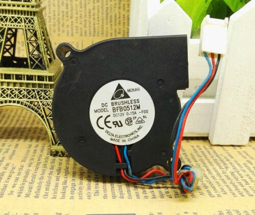 DELTA BFB0512M 12V 0.15 50*50*15MM 5CM 3Pin Cooling Fan
