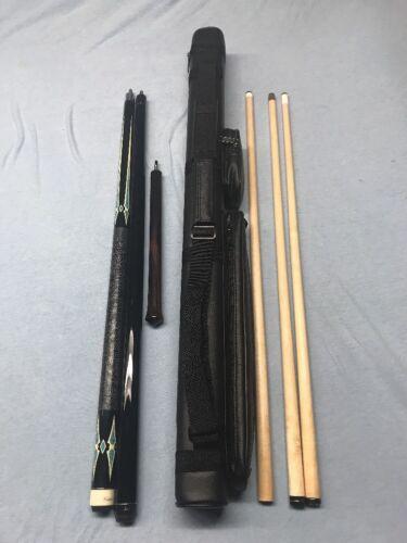 Custom Set ; Kaiser Play Cue J/&J Break Cue J/&J Jump Cue /& 2x3 Case