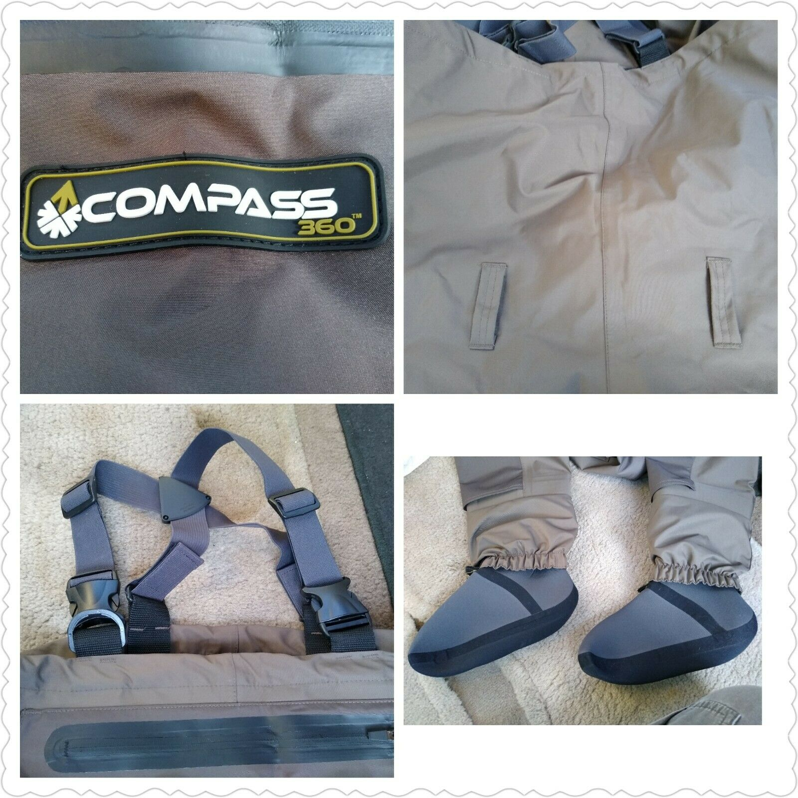 Compass 360 Deadfall Breathable STFT Chest Wader Large