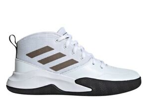 Adidas-OWNTHEGAME-K-WIDE-EF0310-Bianco-Scarpe-Donna-Bambini-Sneakers-Ginnastica