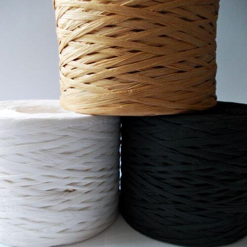 Paper Raffia Ribbon Sets of 3 colors x 100 meters 300m Best QUALITY! CHEPEST