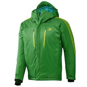 f049c95f9984 Das Bild wird geladen adidas-Herren-Terrex-Frostzeit-Hooded-Jacke -Outdoor-Daunen-