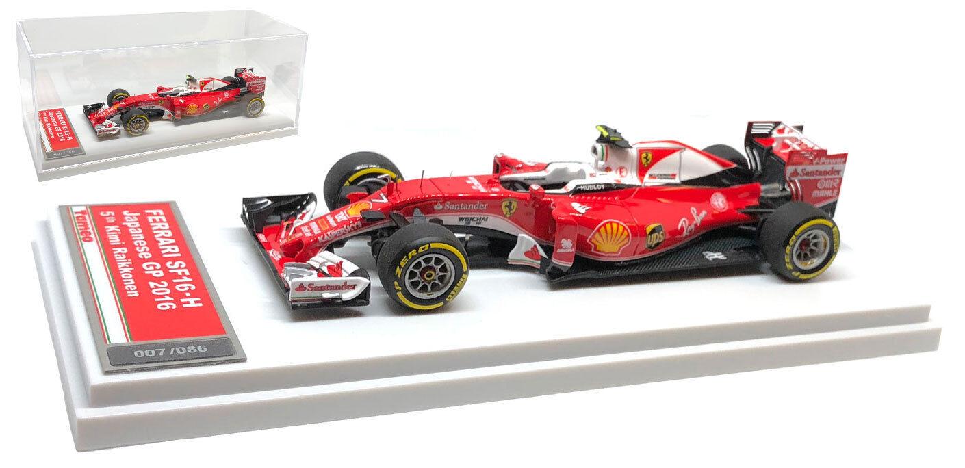 TAMEO TMB044 Ferrari SF16-H #7 5th Japanese GP 2016-Kimi RAIKKONEN RAIKKONEN RAIKKONEN échelle 1/43 | Outlet Online  | Vente Chaude  64bfbb