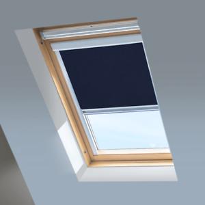 Dakstra Roof Windows BLACKOUT Skylight Roller Blinds For RoofLITE Navy