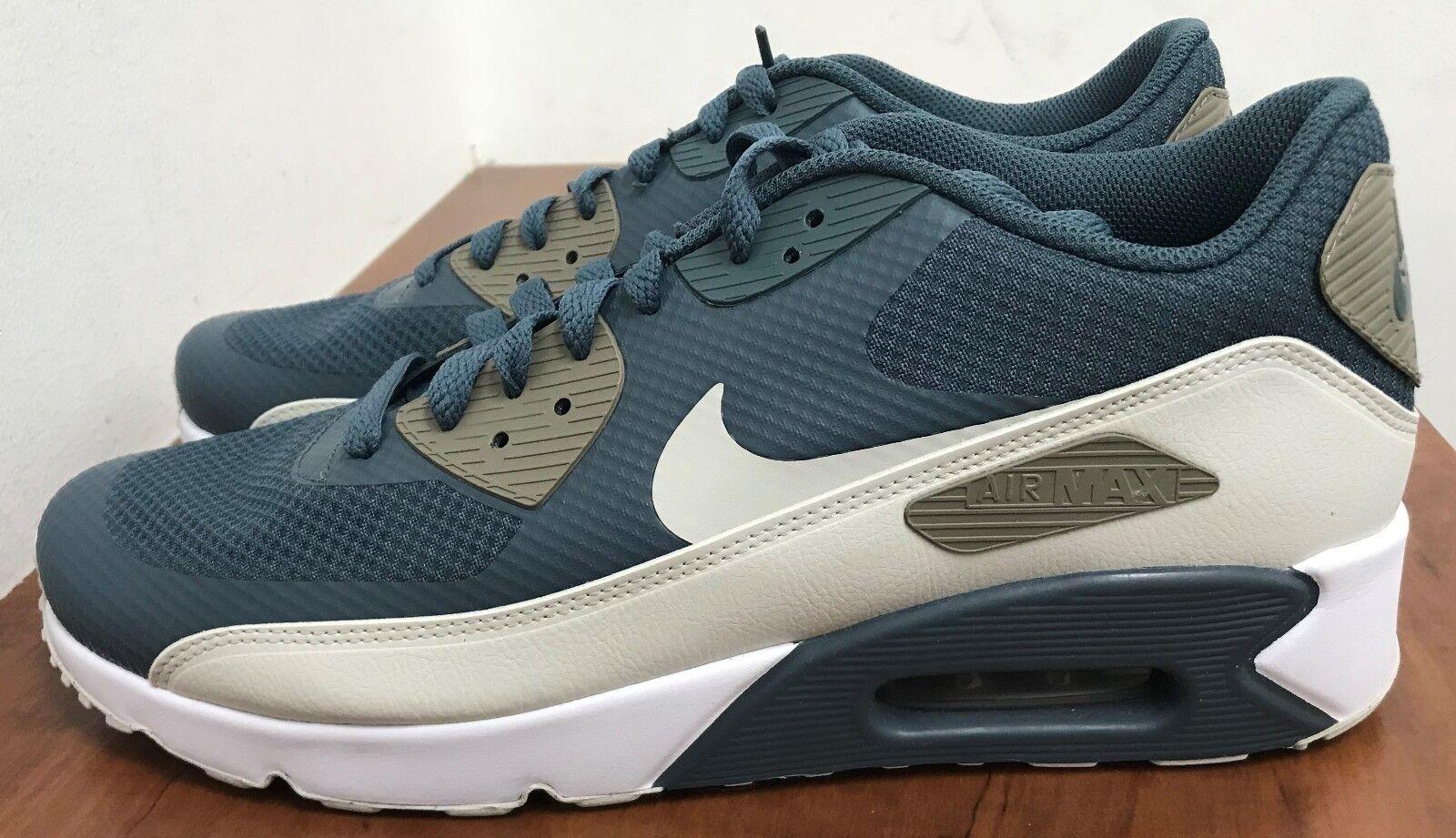 Nike Air Max 90 Ultra 2.0 Essential blueee Fox Light Bone 8 M US Mens (875695 401)