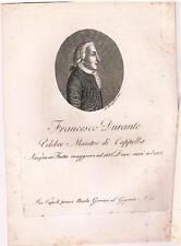 Fratta Maggiore - Napoli - Musica - FRANCESCO DURANTE -  Gervasi - Morghen