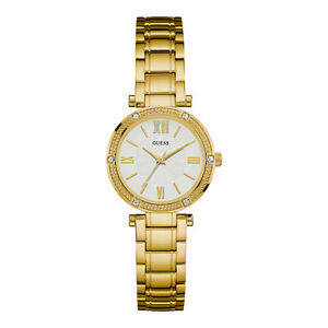 GUESS-woman-watch-watch-woman-Uhr-Steel-Oro-Gold-w0767l2-Park-Ave-South-NEW