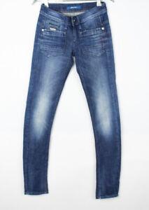 G-STAR RAW Women Low T Skinny Slim Stretch Jeans Size W24 L30