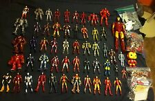 Pre-owned LOT OF 50 MARVEL IRON MAN 2&3 ACTION FIGURES including Hulkbuster