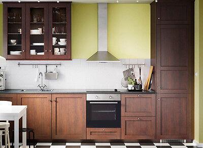 Ikea Edserum Cabinet Doors Panels Large Sizes Sektion Discontinued Kitchen Ebay