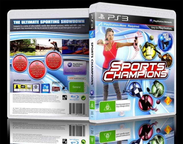 (PS3) Sports Champions (G) (Mixed Sports) Guaranteed, 100% Tested, Australian