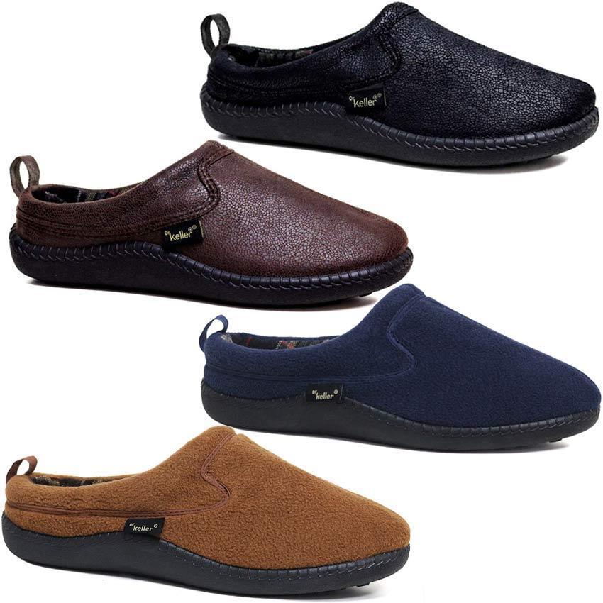 NEW Dr Keller BURGANDY tab house Slippers size UK 6 EU 39