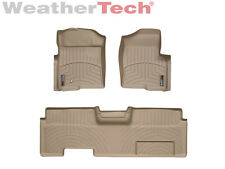 WeatherTech DigitalFit FloorLiner - Ford F-150 - Ext. Cab - 2009-2010 - Tan
