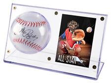 Ultra Pro Acrylic Baseball Card Holder Case Signed Autograph Ball Display