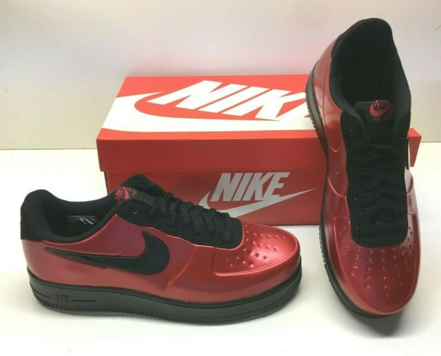 Nike AF1 Air Force 1 Foamposite Pro Cup Gym Red Black Basketball Shoes Mens 12