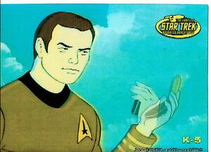 STAR-TREK-ANIMATED-ADVENTURES-CAPTAIN-KIRK-IN-MOTION-CARD-K-5