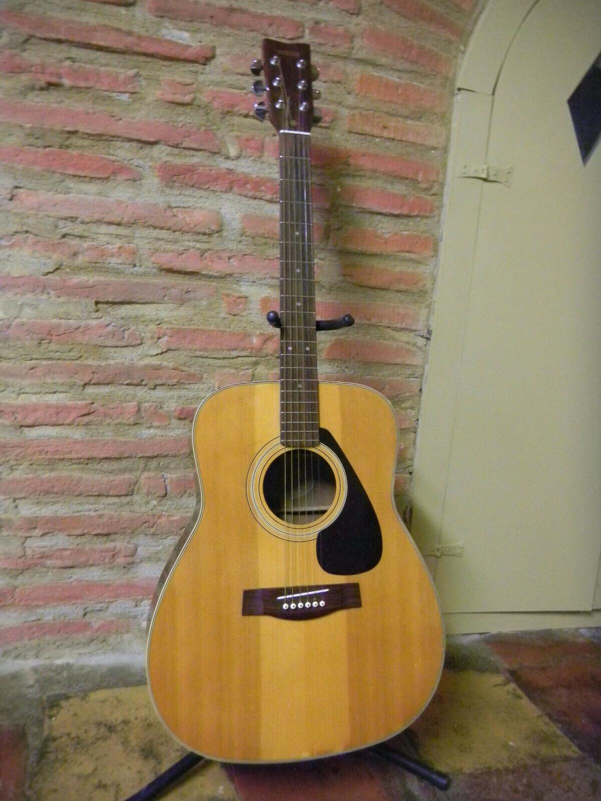 Guitare FOLK YAMAHA 80' FG335 FG-335 DREADNOUGHT RARE bel état a saisir