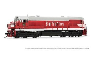 Arnold-Burlington-CB-amp-Q-GE-U28C-Diesel-DCC-Ready-571-N-Scale-Locomotive-HN2311