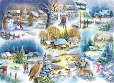 La House of Puzzles-Puzzle 1000 PEZZI-LET IT SNOW