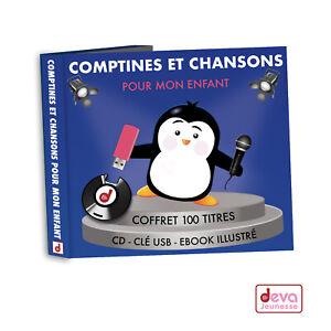 Comptines-Et-Chansons-Pour-Mon-Enfant-Coffret-CD-Cle-USB-MP3
