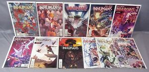 ALL-NEW-INHUMANS-1-2-3-4-5-6-7-8-9-10-11-Full-Run-1-11-High-Grade-Marvel-2016