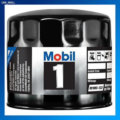 Mobil 1 Oil Filter >> Mobil 1 Genuine New M1mc 133 Motorcycle Performance Oil Filter 2 Free Gloves Ebay