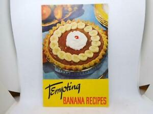 1953-Cookbook-Booklet-Tempting-Banana-Recipes-United-Fruit-034-Chiquta-034-Banana
