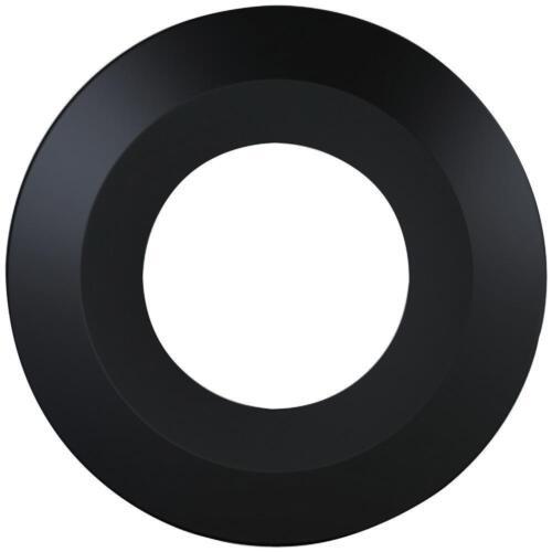 Biseauté noir Downlight cadre-Luceco