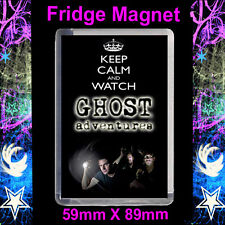 Keep Calm And Watch Ghost Adventures - Cult TV - 59x89mm Fridge Magnet