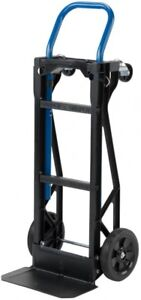 Harper Hand Truck Push Cart 400 lb. Capacity Convertible Moving Dolly Trolley