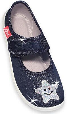 Beck 3017 Smile Hausschuhe Kindergarten Schuhe für Mädchen