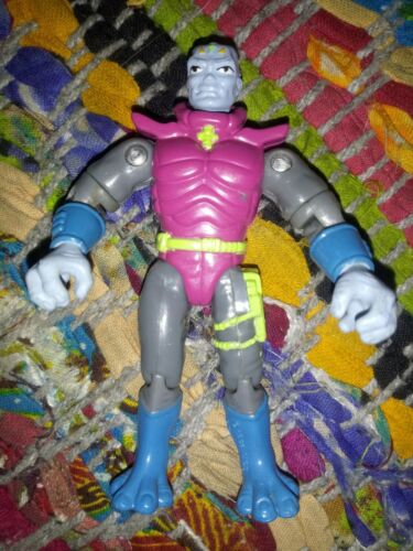 """ExoSquad Typhonus High Speed Stealth Eframe driver Playmates 1993 2/"""" action"""