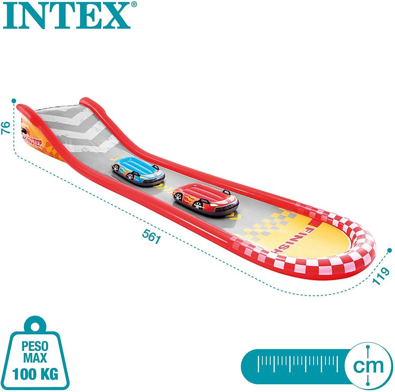 Intex 57167NP Waterslide Water Slide 2 Boards Surf Sprayer 6 Years