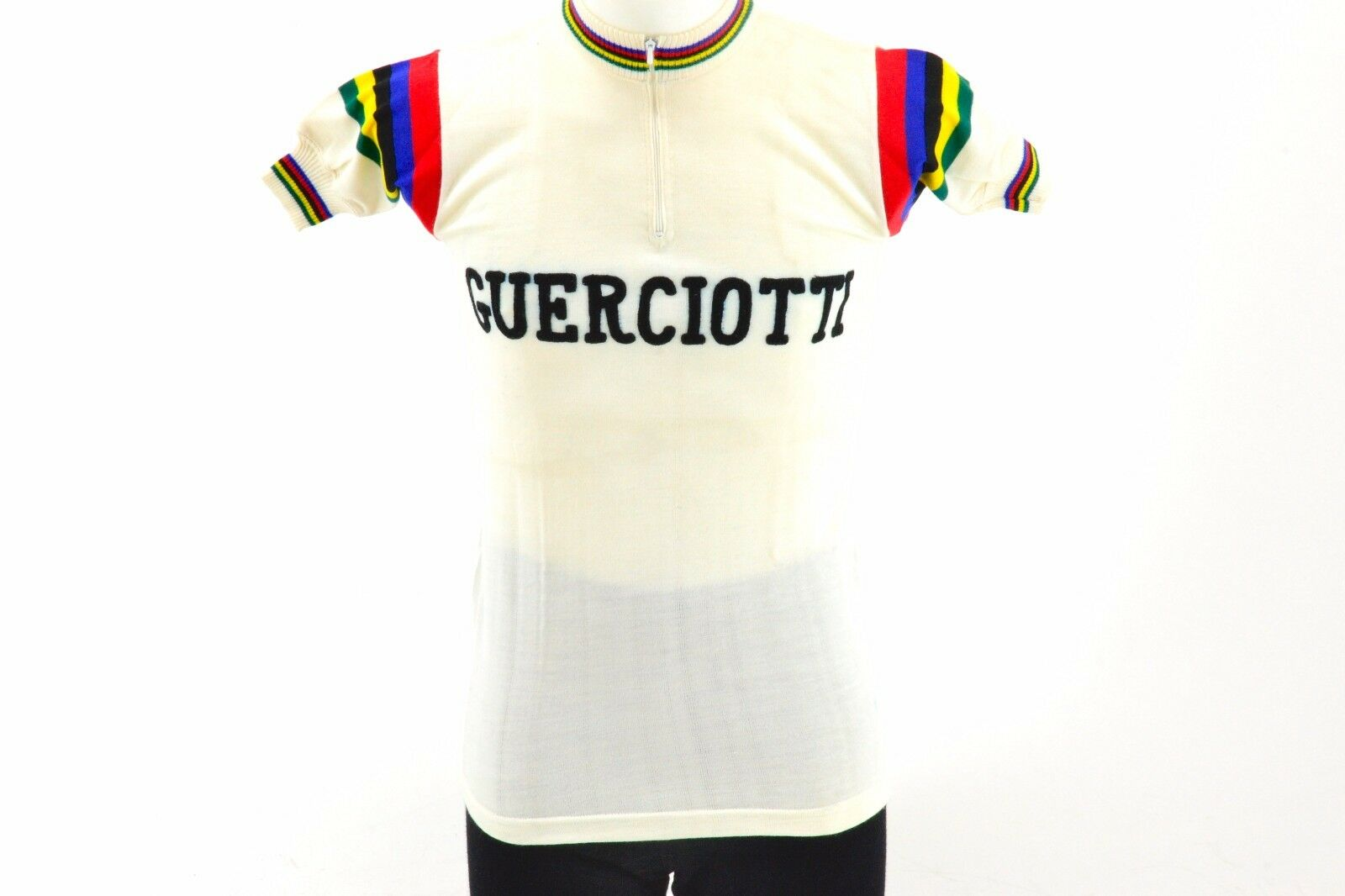 Guerciotti Short Sleeve Classic Cycling Jersey Dimensione 1 Made in  L'Eroica NOS
