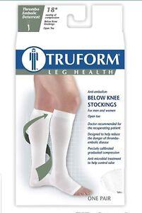 c45371f4d09 TED Anti Embolism Knee High Sz S 18mmhg Stockings Open Toe ...