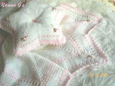 """chal almohada que empareja & Star"" para bebé o mostrar instrucciones de Crochet. () #14"