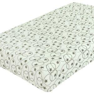 2 x per lettino 100% Cotone Spesso Jersey Lenzuolo Lettino misura 140cm x 70cm.