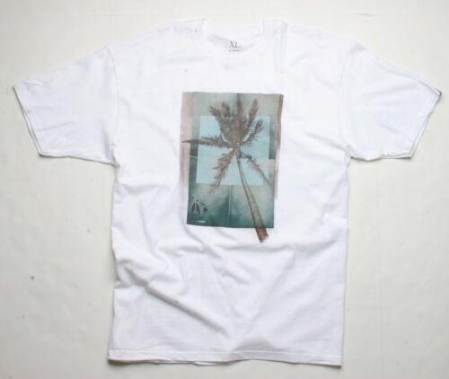 Nixon Palm Hawaii Short Sleeve Tee T-Shirt White Small S1622100-02 S
