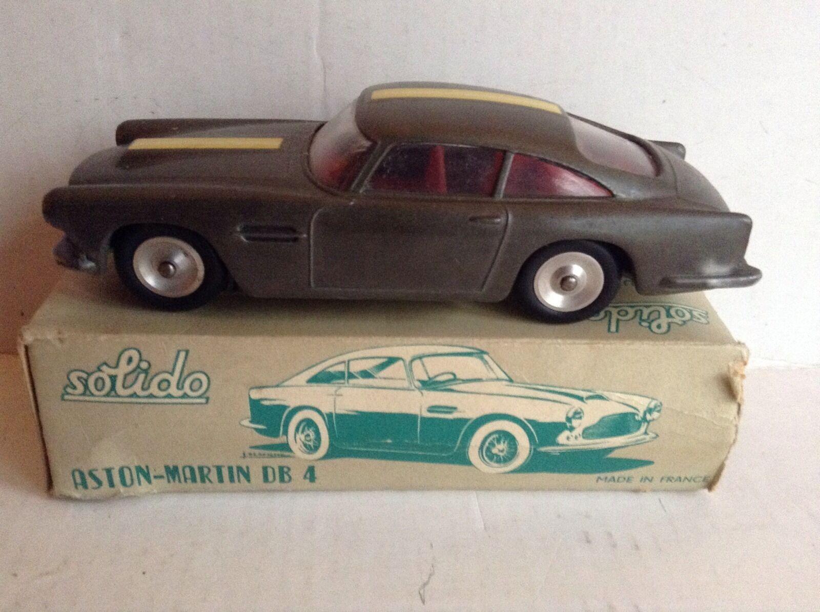 Solido Aston Martin DB4 nr menta in scatola 1960's