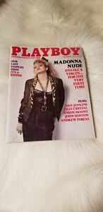 PLAYBOY-magazine-MADONNA-issue-September-039-85-Last-Stapled-Issue-Rare