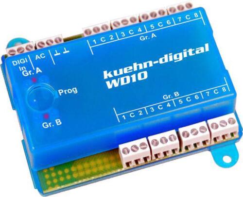 Kühn Weichendecoder WD10 DCC und Motorola Format