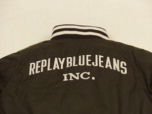 REPLAY-BLUE-JEANS-INC-KINDER-CASUAL-WINTER-BOMBER-JACKE-BRAUN-GR-130-WIE-NEU