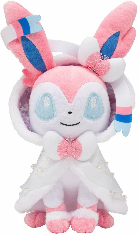 NEW Pokemon Center Original Plush Sylveon Santa Christmas 2019 Doll Anime F S