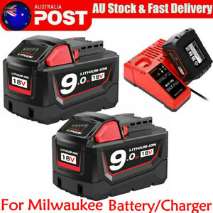 For-MILWAUKEE-M18B9-M12B6-18V-12V-Lithium-Battery-48-11-1890-Charger-M12-18C