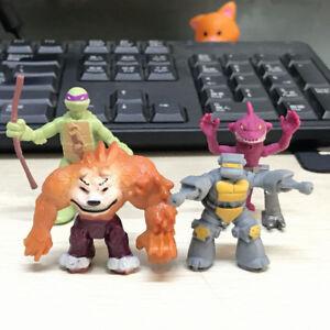 4pcs-Teenage-Mutant-Ninja-Turtles-TMNT-Half-Shell-Heroes-DOGPOUND-Tiger-Claw-Toy