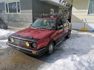 1988 VW Jetta 4 door